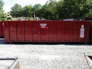 30 yarder dumpster for rent